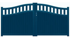 "portail aluminium 4 galbes ""BAYEUX"" dimensions standard & sur mesure vendu au M²"