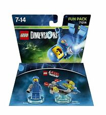 LEGO Dimensions Benny & Benny's Spaceship Fun Pack BNIB Brand New Boxed
