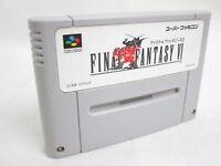 FINAL FANTASY VI 6 Super Famicom Nintendo SNES Free Shipping Hit-Japan sfc
