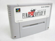 FINAL FANTASY VI 6 Super Famicom Nintendo SNES Free Shipping Hit-Japan sfc