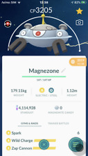Pokemon Go trading 40 LV max Magnezone with second charge move PVP MASTER