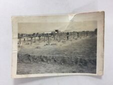"""Vintage BW Real Photo #BE: Hammet: """"Jerry Graveyard"""" Burials Graves"""