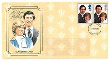 United Kingdom Cover Royalty Postal Stamps