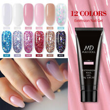 MAD DOLL 15g Glitter Sequins Extension Nail Gel Building Extension Nail Gel