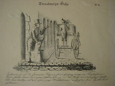 Straßburg Helje Biedermeier Karikatur Simon Fils Desire Collignon Saverne