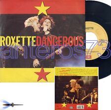 """ROXETTE """"DANGEROUS"""" RARE 45RPM MADE IN ITALY - MINT"""