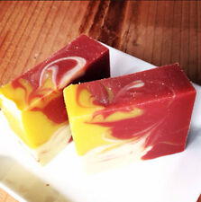 Wholesale Handmade soap Loaf {POMEGRANATE CITRON} ~ W/ Jojoba Oil + Avocado Oil