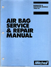 1985 1986 To 1991 Domestic & Imported Air Bag Service & Repair Manual 600+ Pages