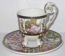 Mokkatasse Mokka Tasse Sammlertasse aus Porzellan im Antik Stil unbenutzt