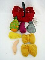 ikea latsas soft food & basket Plush toy J1