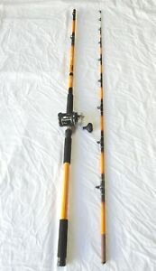 Nite Stick Catfish Casting Combo 11' 2PC Rod Glow Tip / 3BB Cast Reel