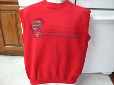 Ocean Pacific OP surfboards woody car sleeveless sweat shirt large vintage retro