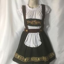 Renaissance Bavarian Beauty Costume Wrench Bar Maid Dress Up Ladies One Size