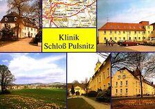 Klinik Schloß Pulsnitz , Ansichtskarte