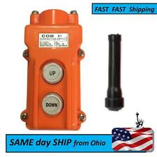 switch box - UP & DOWN orange boat lift switch - boat lift switch part complete