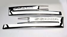 Scania Step Trim Pressed Super Polished Stainless Steel 2 Pcs