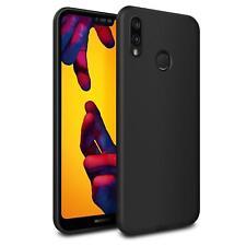 Ultra Slim Case Huawei P20 Lite Handy Hülle Schutzhülle Silikon Schwarz Tasche
