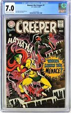 S430. BEWARE THE CREEPER #1 by DC CGC 7.0 FN/VF (1968) 2nd App. of the CREEPER