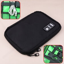 Storage Bag Organizer Case fit for Electronic Accessories Portable Travel New Hf