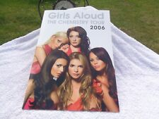 More details for girls aloud  the chemistry  tour concert program book 2006 nm
