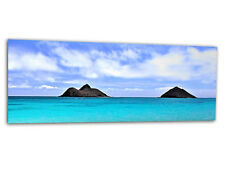 "Acrylic-glass Wallart Islas Y Mar ag312500520 Xxl Panel 49,2 ""x19.7"" impresión"