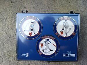 2020 New York Mets Hall Of Fame Challenge Coin Set