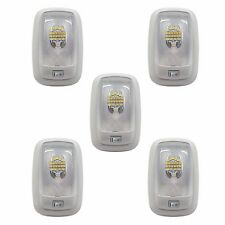 5 RV LED 12v FIXTURE SINGLE DOME LIGHT 4200K NATURAL WHITE CAMPERS TRAILERS MARI
