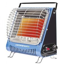 New Companion LP gas heater piezo camp & caravan LPG portable 3 tile