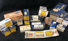 CHOICE of Vintage Philips, Osram, Spahn, Opel, etc.  Lamp Light Bulbs
