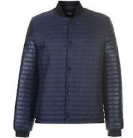 Pierre cardin bubble Bomber jacket Navy blue MENS UK XL *REF133