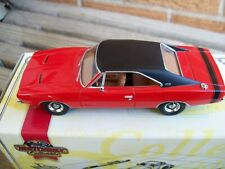 MATCHBOX 1969 DODGE CHARGER, AMERICAN MUSCLE CAR COL., 1:43 DIECAST, BOX & COA