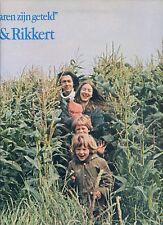 ELLY & RIKKERT ZUIDERVELD al je haren zijn geteld HOLLAND 1977 EX LP GATEFOLD