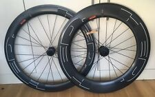 HED Jet 6/9 Plus clincher disc wheelset, 700c tubeless, Shimano, pair, BRAND NEW