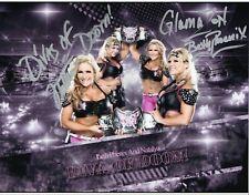 WWE SIGNED WRESTLING PHOTO NATTIE NATALYA & BETH PHOENIX