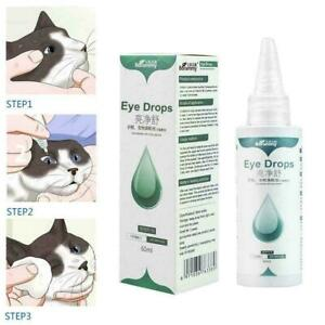 Pets Eye Care Drops For Dog Cat Eyes Tear Stain Removing Dirt F5Z6 D1G7