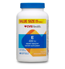 CVS Health Vitamin E Softgels 400IU 400 CT  Value Size