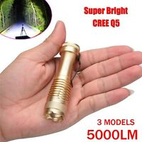 Super Bright 3000 Lumens Q5 AA/14500 3Mode ZOOM LED Flashlight MINI Police Torch