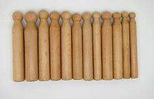 12 bouterolles en bois - fabrication bijoux, outils de bijoutier