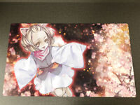 YUGIOH Ash Blossom /& Joyous Spring Link Zones CARD SLEEVES Konami Mat BOX