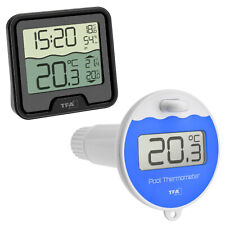 Nouvelle annonce TFA 30.3066.01 Marbella Numérique Radio POOLTHERMOMETER Piscine Thermomètre