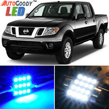 7 x Premium Blue LED Lights Interior Package Kit for Nissan Frontier 05-15 +Tool