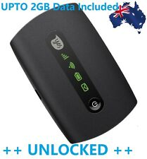 NEW & UNLOCKED OPTUS E5251 3G POCKET WiFi MODEM - UPTO 10 DEVICES+ UPTO 2GB DATA