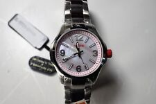 Red Line Women's Starter Watch Pink mother of pearl Dial Stainless Steel