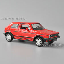 Welly 1:36 Scale Diecast Car Model Volkswagen Golf I GTI Replica Pull Back Toy