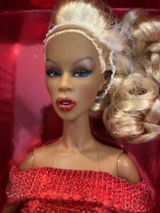 SOLD OUT LIMITED EDITION JASON WU INTEGRITY TOYS RED REALNESS RUPAUL DOLL (NRFB)