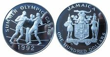 JAMAICA KM 76  100 Dollars Olympia 1992 Boxen in PP Proof 472018