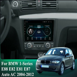 For 2004-2011 BMW 1-Series E88 E82 E81 E87 Auto AC Stereo Radio 9'' Android 10.1