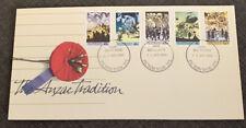 1990 The Anzac Tradition Australian Fdc Picton Nsw