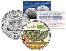 FREEDOM LAND USA Colorized JFK Kennedy Half Dollar US Coin AMUSEMENT PARK BRONX