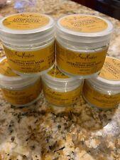 Lot x 5 SheaMoisture Raw Shea Butter Hydrating Mud Mask for Dry 2.75 oz B1
